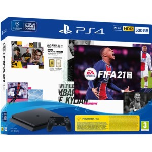 Sony PS4 500GB + FIFA 21 + FUTVCH + PS 14 Days