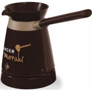 Μπρίκι Ηλεκτρικό Singer MERAKI Καφέ