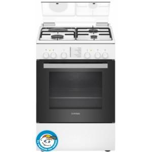 Κουζίνα Μεικτή Pitsos PHC009G20 Λευκό Α