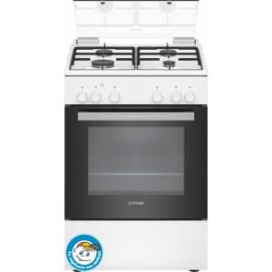Κουζίνα Υγραερίου Pitsos PAC003D20 Λευκό