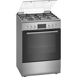 Κουζίνα Υγραερίου  Bosch 66lt με εστίες Αερίου HXR390D50