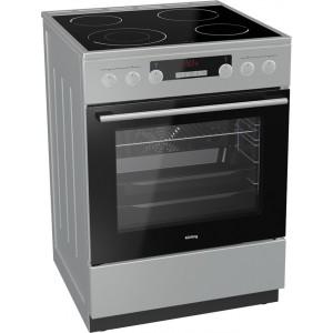 Κουζίνα 71lt με Εστίες Κεραμικές Korting KEC 6352 IPC 71lt