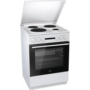 Κουζίνα Korting 71lt με Εστίες Εμαγιέ KE 6151 WPM 71lt