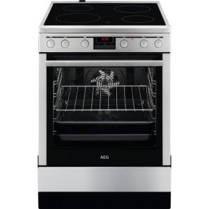 Κουζίνα Κεραμική AEG CCB6441ABM Inox A